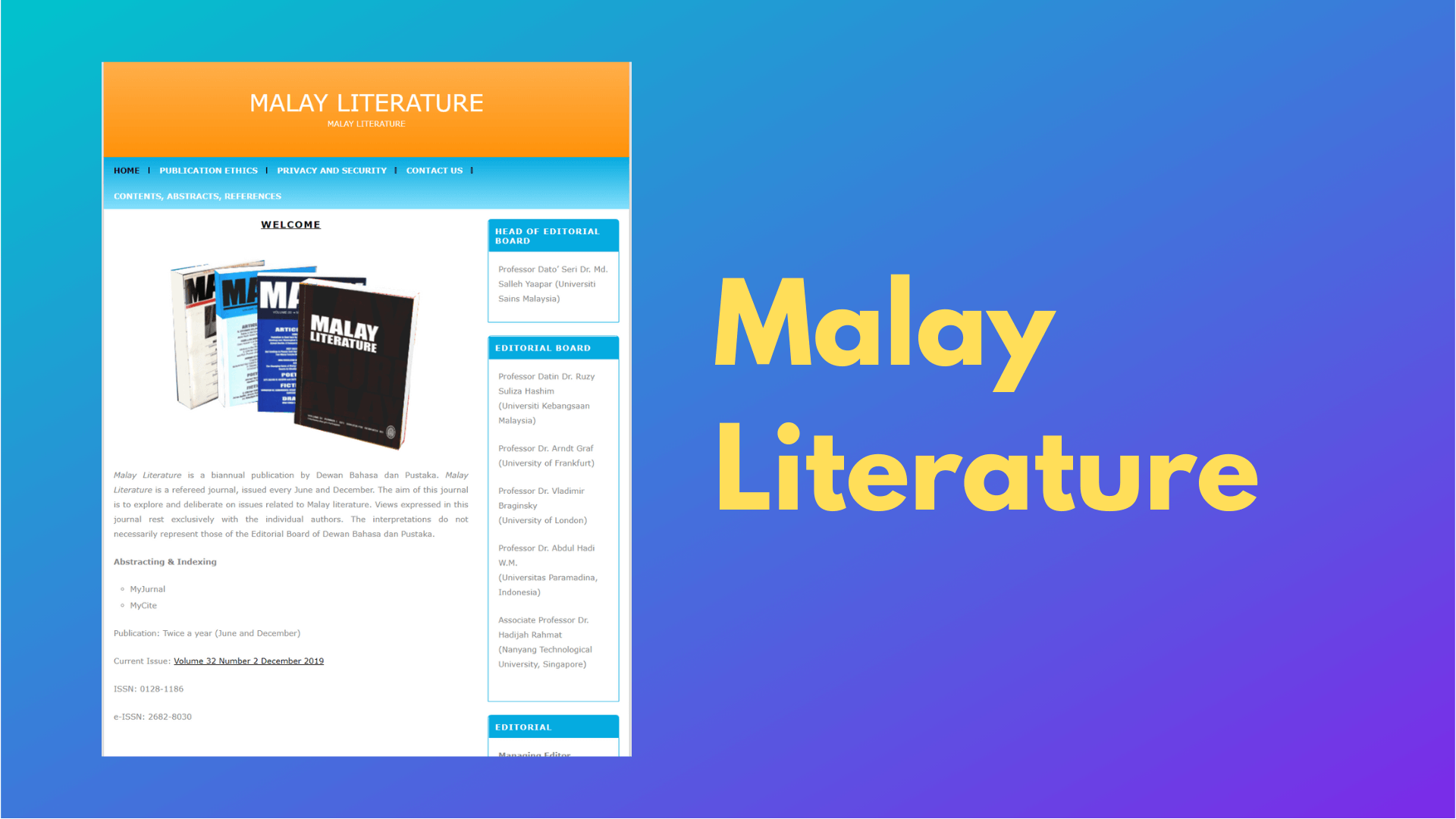Malay Literature DBP
